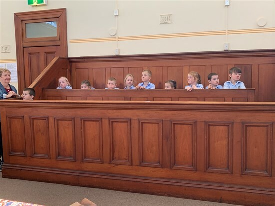 In the jury box