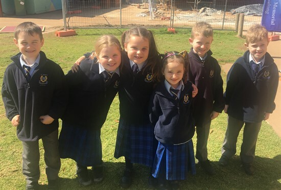 Year 1&2 students who helped during the maths training