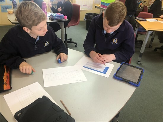 Year 5&6 using the strategies learnt during Maths PD (5)